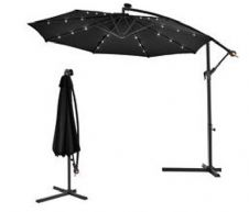 3m Light Up Cantilever Parasol